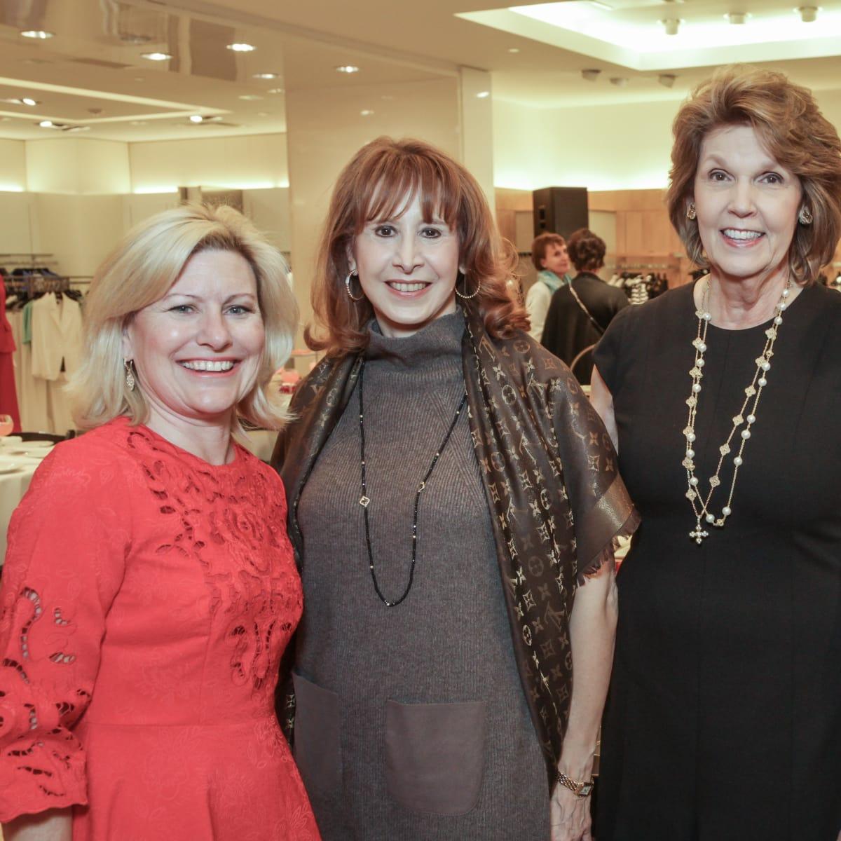 March of Dimes Tea, Feb. 2016 Maureen Higdon, Vicki West, Lilly Andress, Mary Lynn Marks