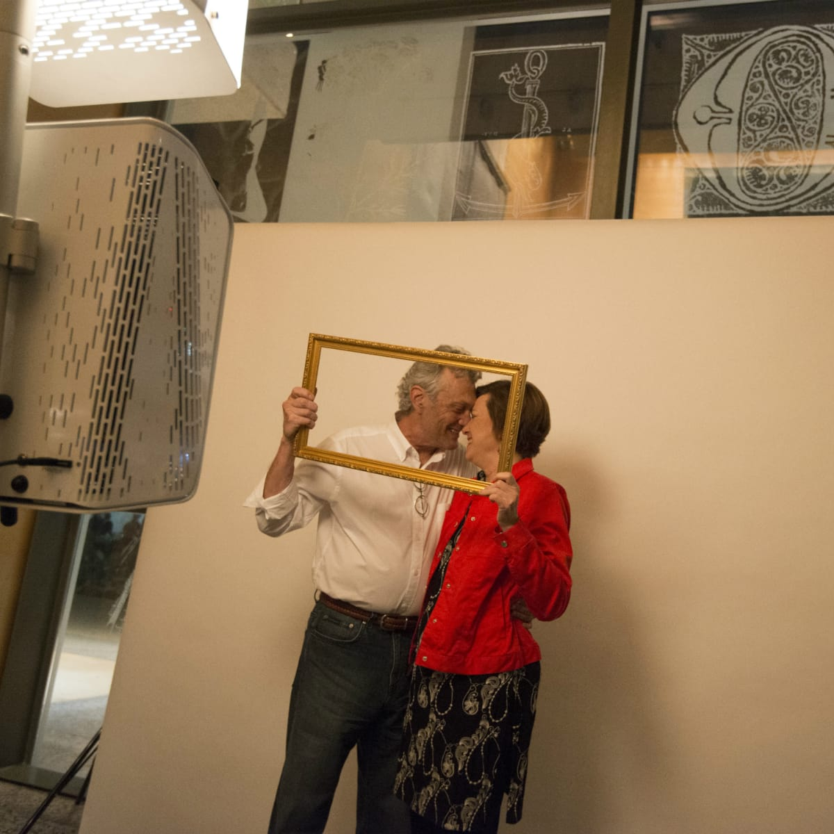 Ampersand Harry Ransom Center spring 2016 photo booth cute couple