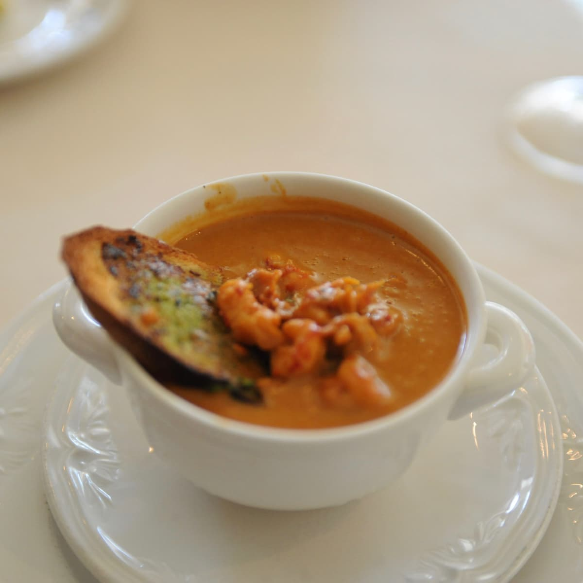 Manor House crawfish bisque