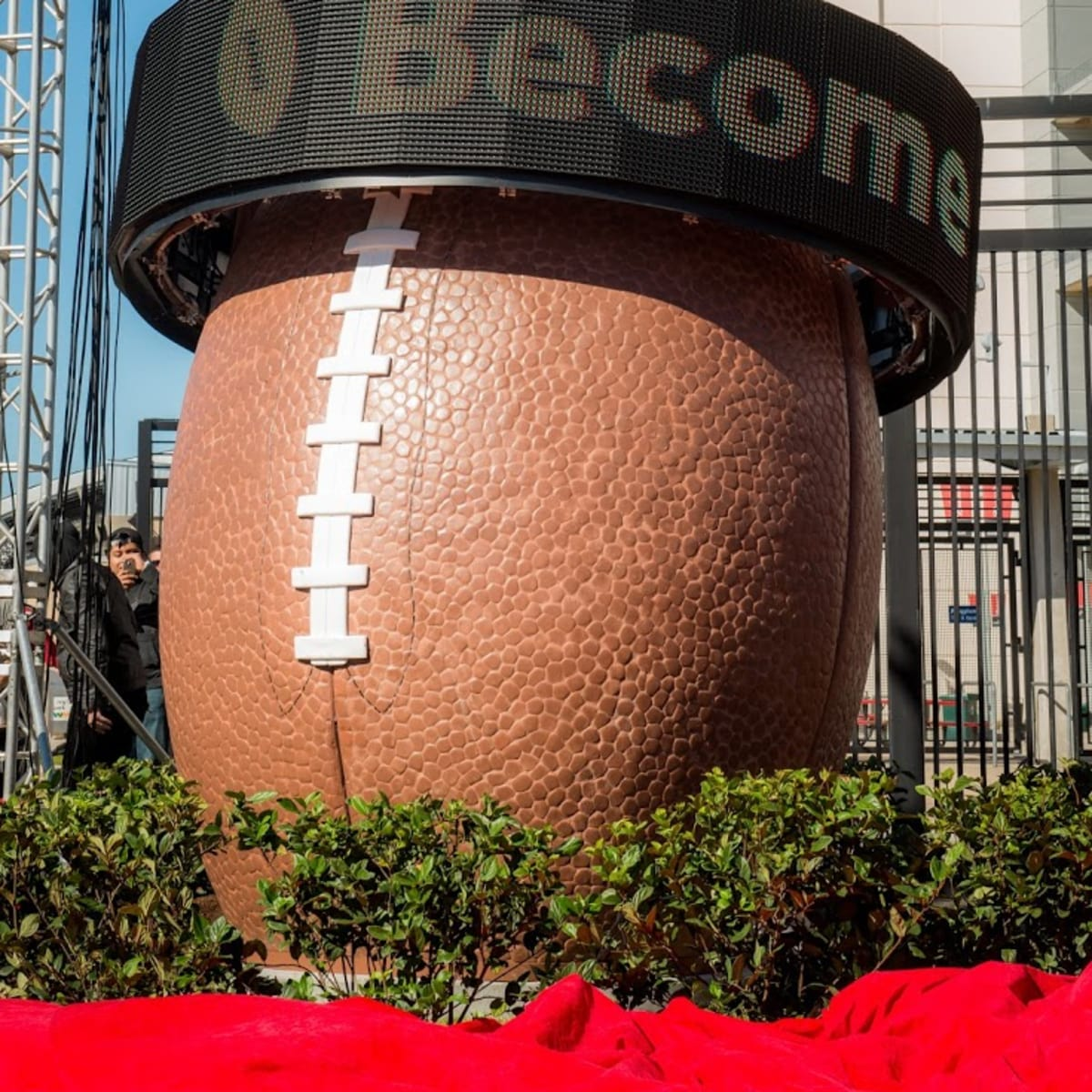 Super Bowl Countdown Clock, Feb. 2016