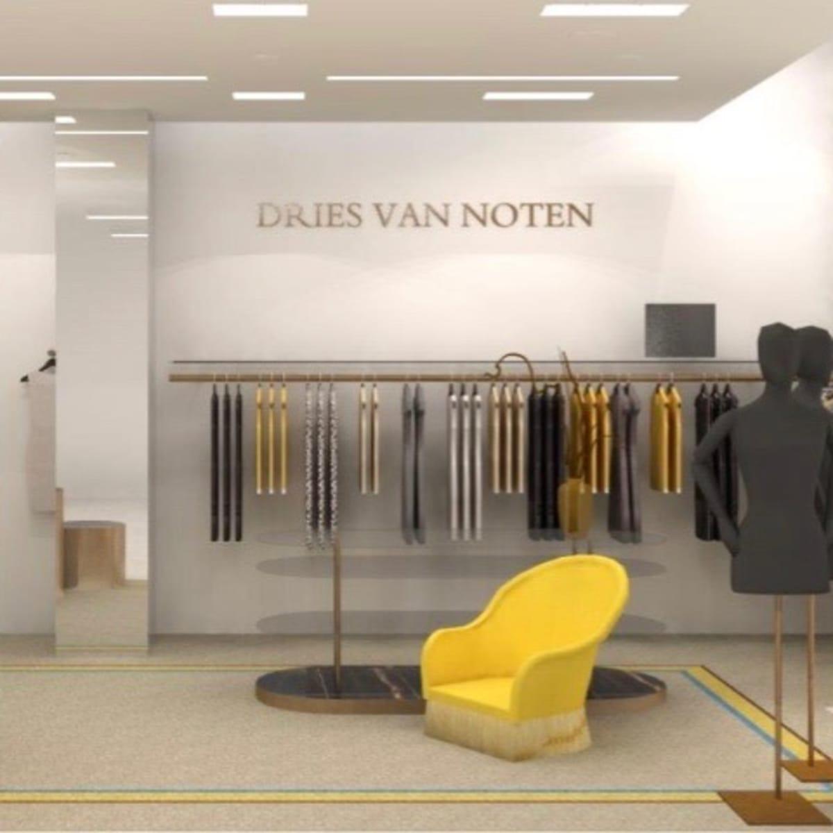 Saks Fifth Avenue Galleria store rendering Dries Van Noten department