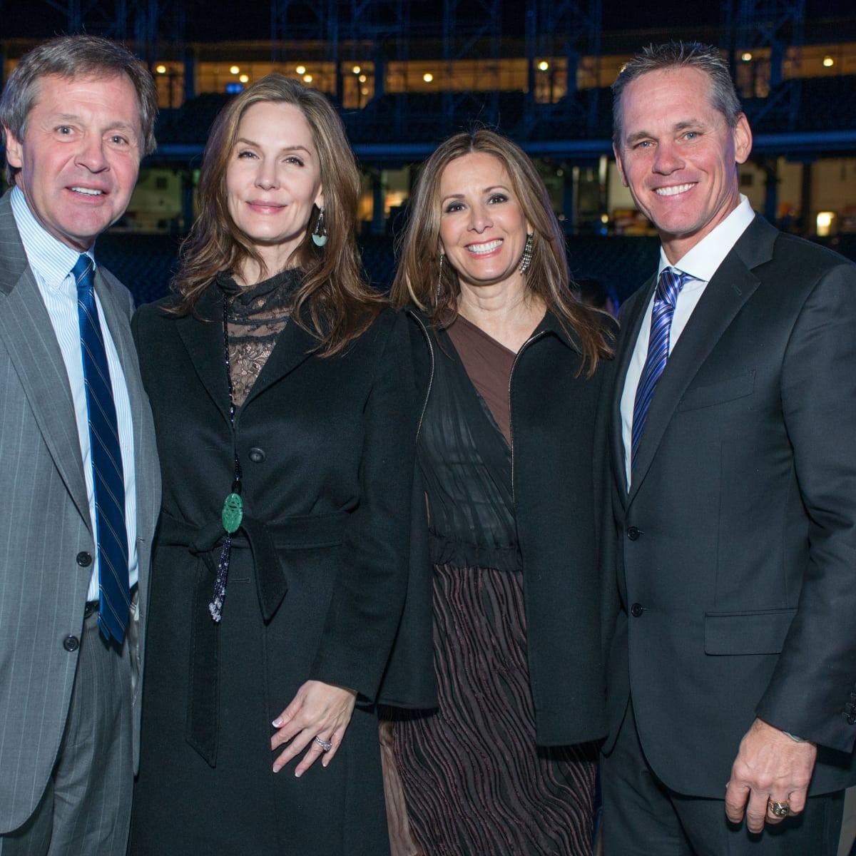 Astros Diamond Gala, Jan. 2016, Paul Murphy, Katherine Murphy, Patty Biggio, Craig Biggio