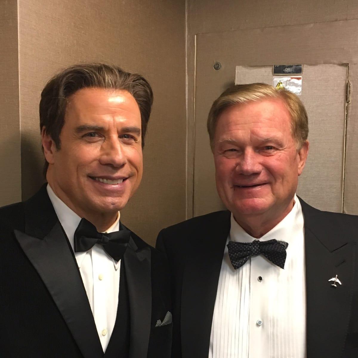 Living Legends of Aviation, Jan. 2016, John Travolta, Keith Mosing