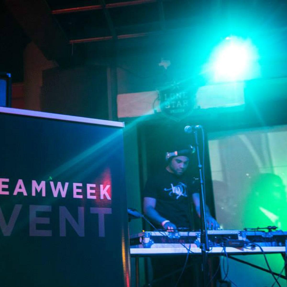 DreamWeek event sign 2015 DJ Johnny Zip San Antonio