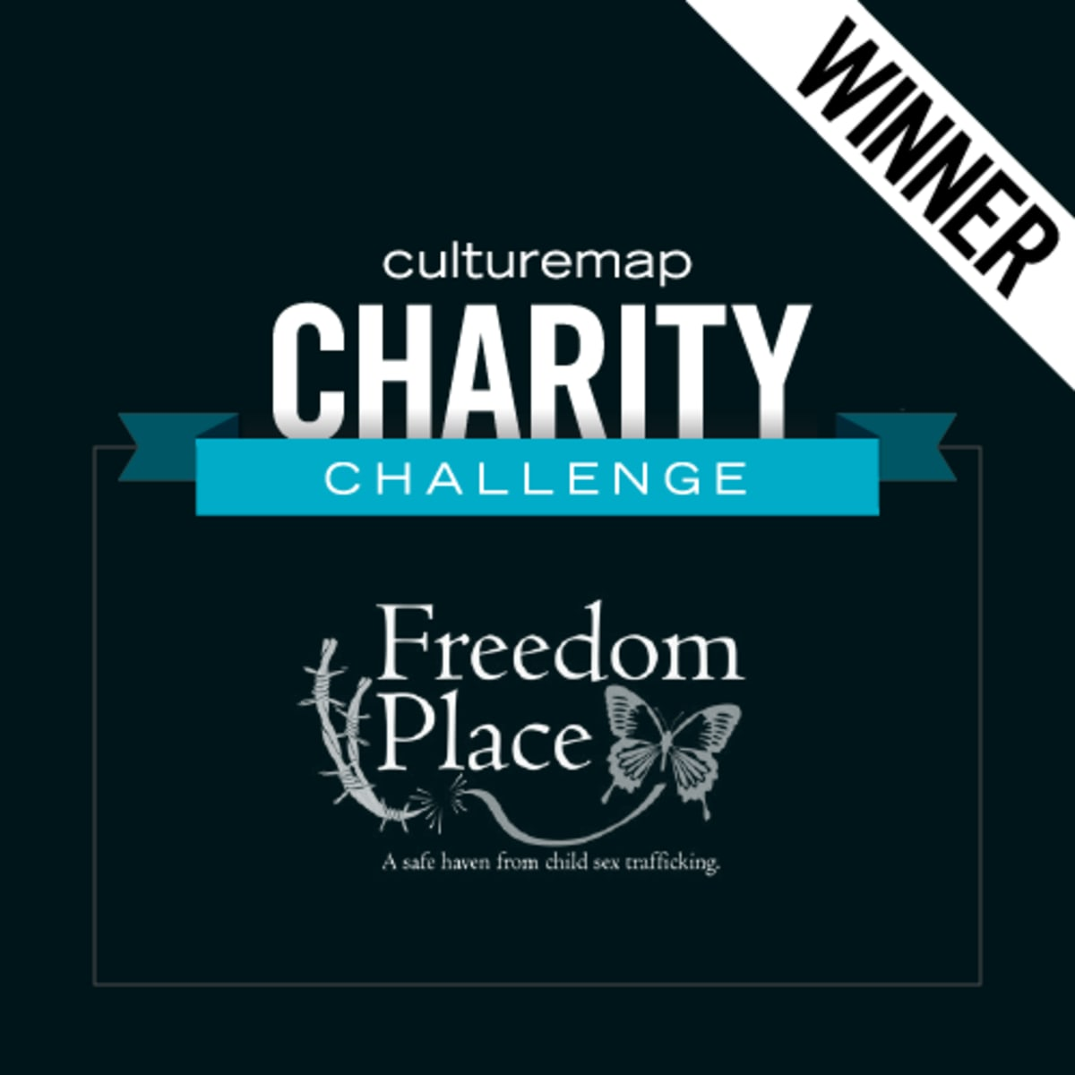 Houston, CultureMap Charity Challenge, January 2015, Freedom Place winner