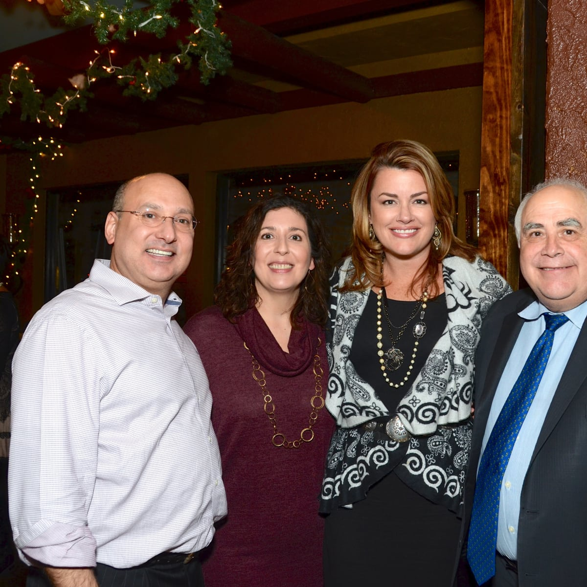 News, Mayor's Hispanic Advisory Board party, Dec. 2015,  Gilbert Garcia, Rose Garcia Moriarty, Miranda Sevcik, William Flores