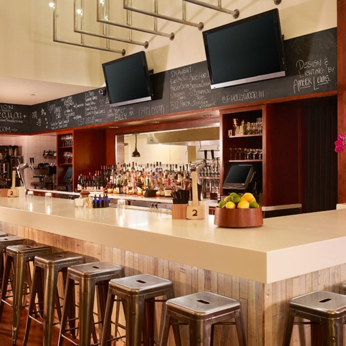 Second Bar and Kitchen interior