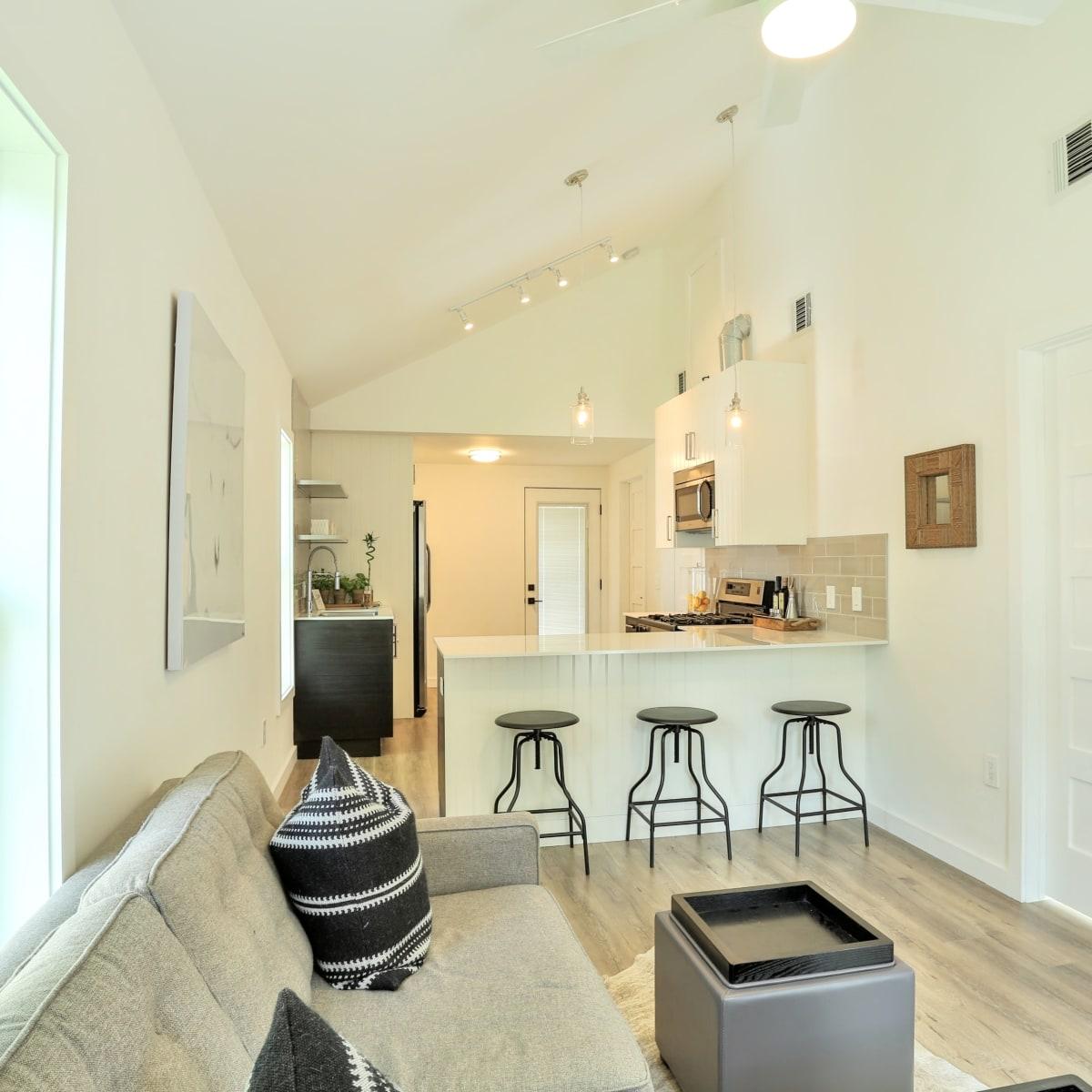 1209 Salina Austin home for sale living room