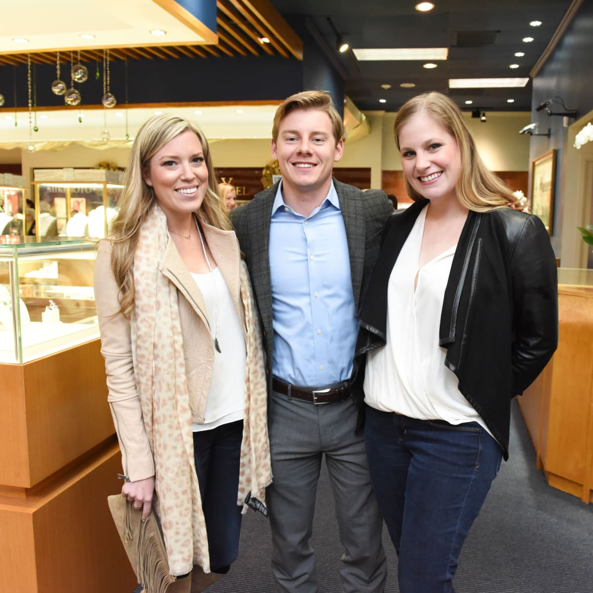 News, Zadoks Holiday Party, Dec. 2015, Holly Alvis, Austin Alvis, Caroline Montondon