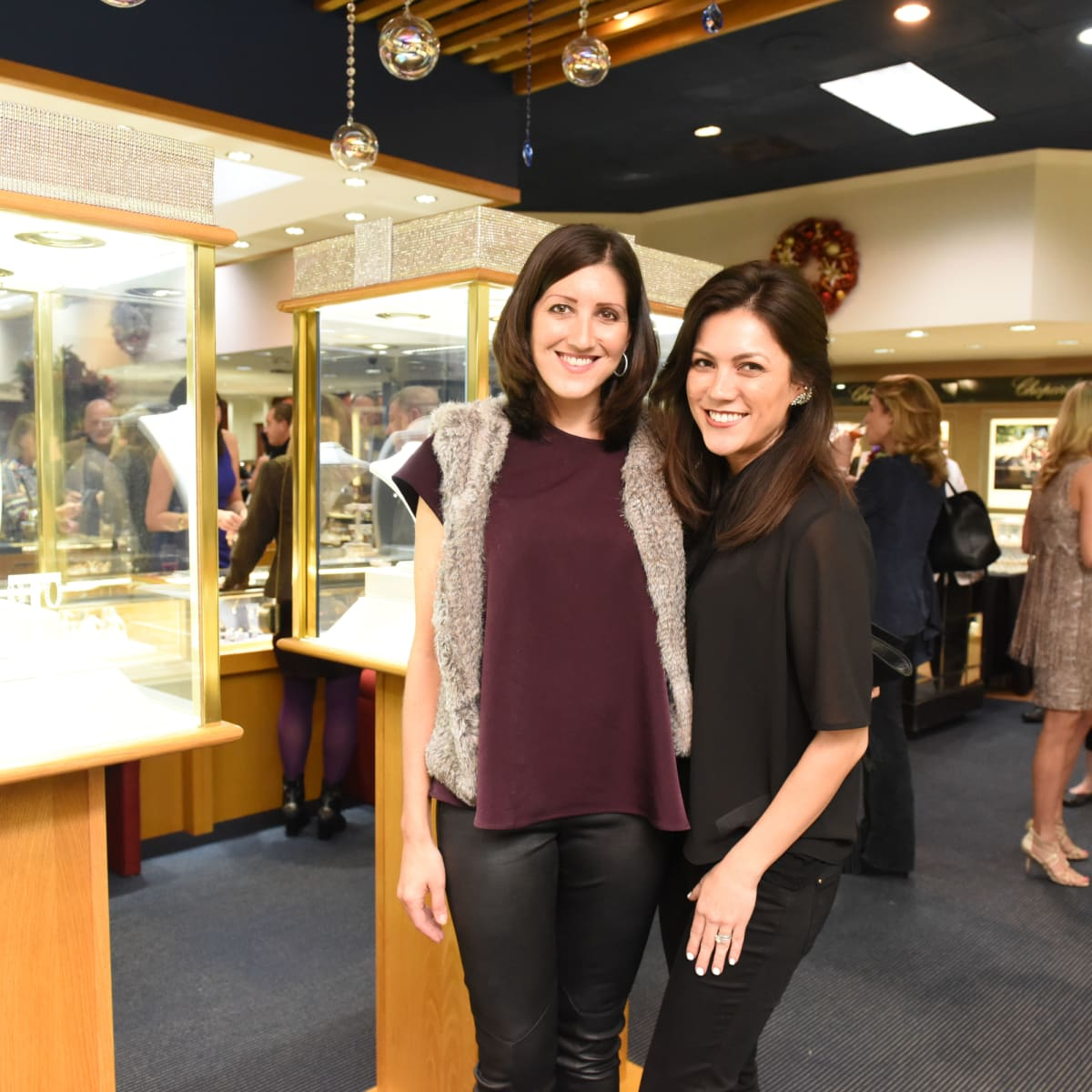 News, Zadoks Holiday Party, Dec. 2015, Caroline Brown, Alana Highberge