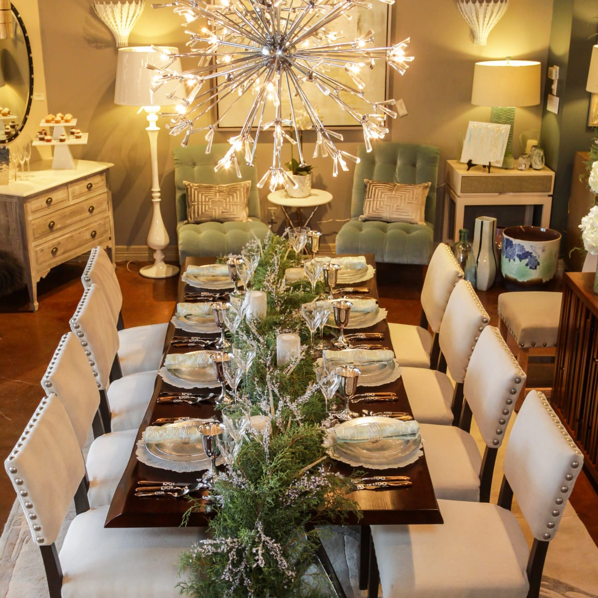 News, Houston Design Center, Deck the Tables, Dec. 2015 Design House