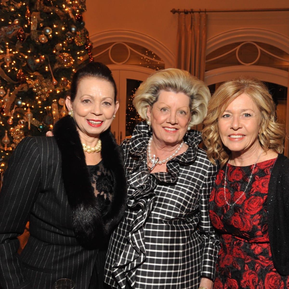 News, Kick-start gala kickoff, Dec. 2015, Danielle Ellis, Ann Brent, Rickie Prichard