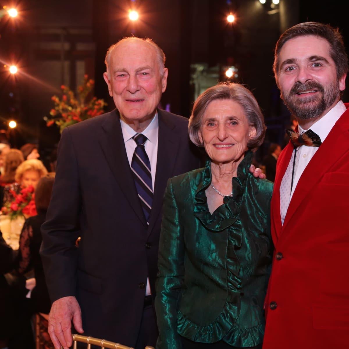 News, Houston Ballet Jubilee of Dance, Dec. 2015, Ted Barr, Melza Barr, Stanton Welch