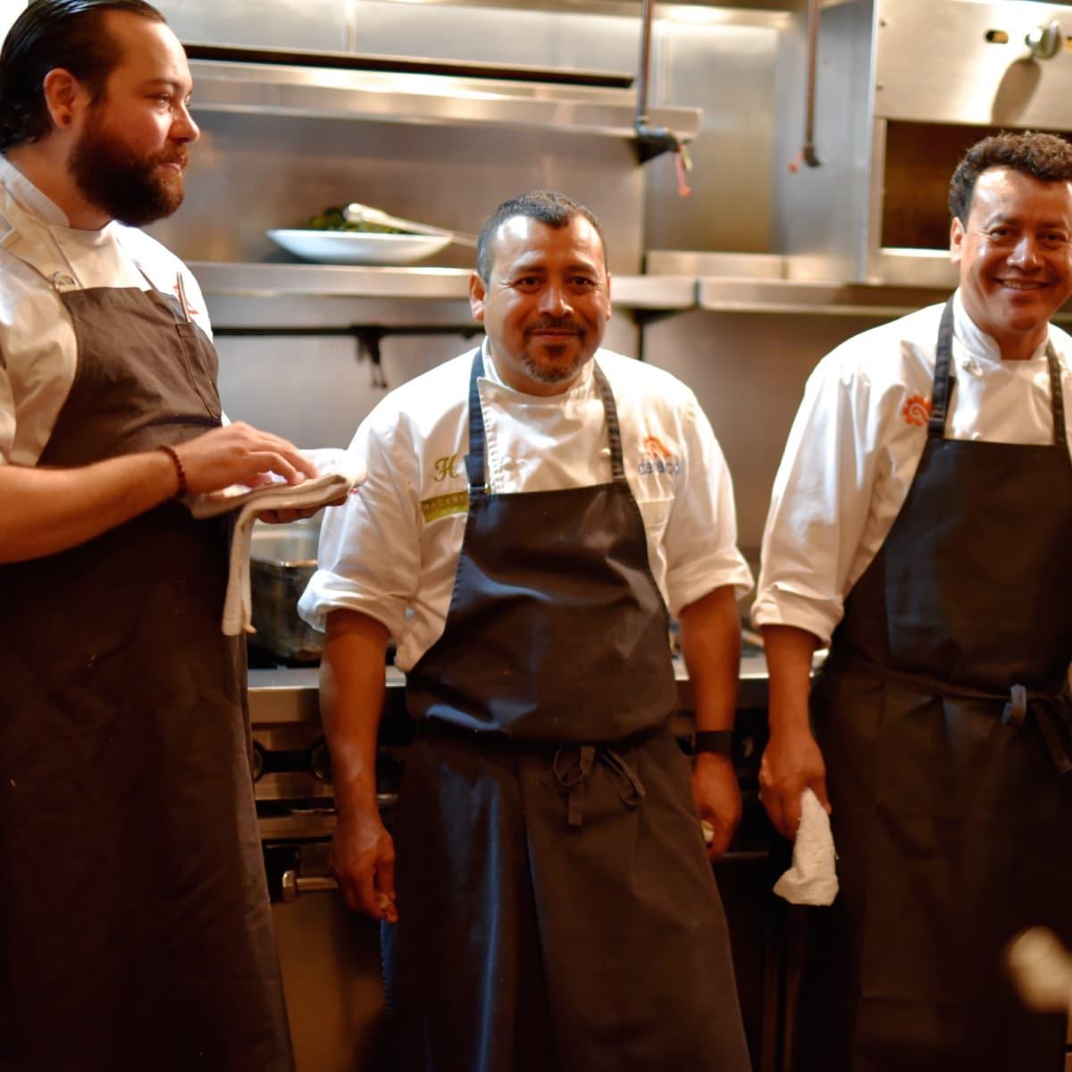 Culinary All Stars Philippe Gaston Ruben Ortega Hugo Ortega Jenny Wang