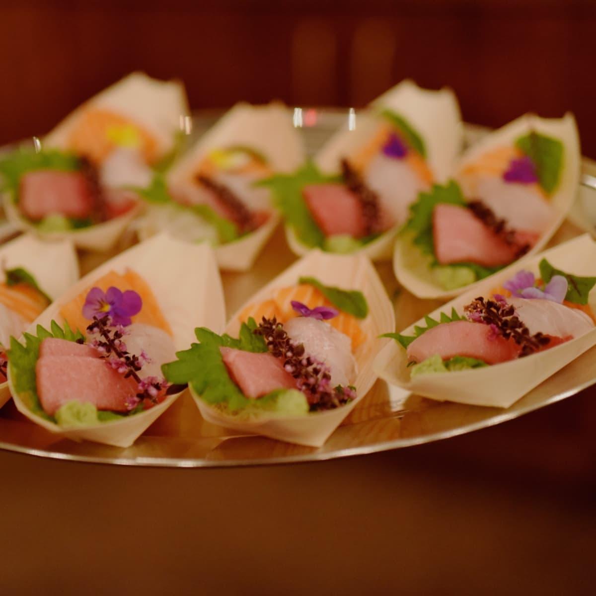 Culinary All Stars Kata Robata sashimi