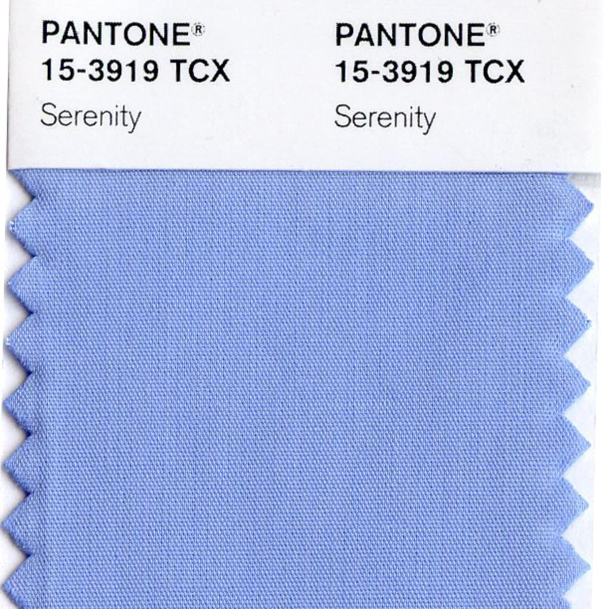 News, Pantone, Serenity, Dec. 2015