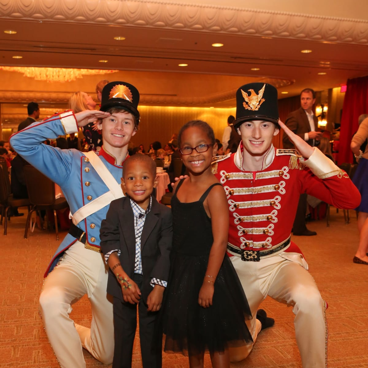 News, Houston Ballet Kingdom of Sweets , Dec. 2015, LaShawne Backstrom, Noah Grace Backstrom