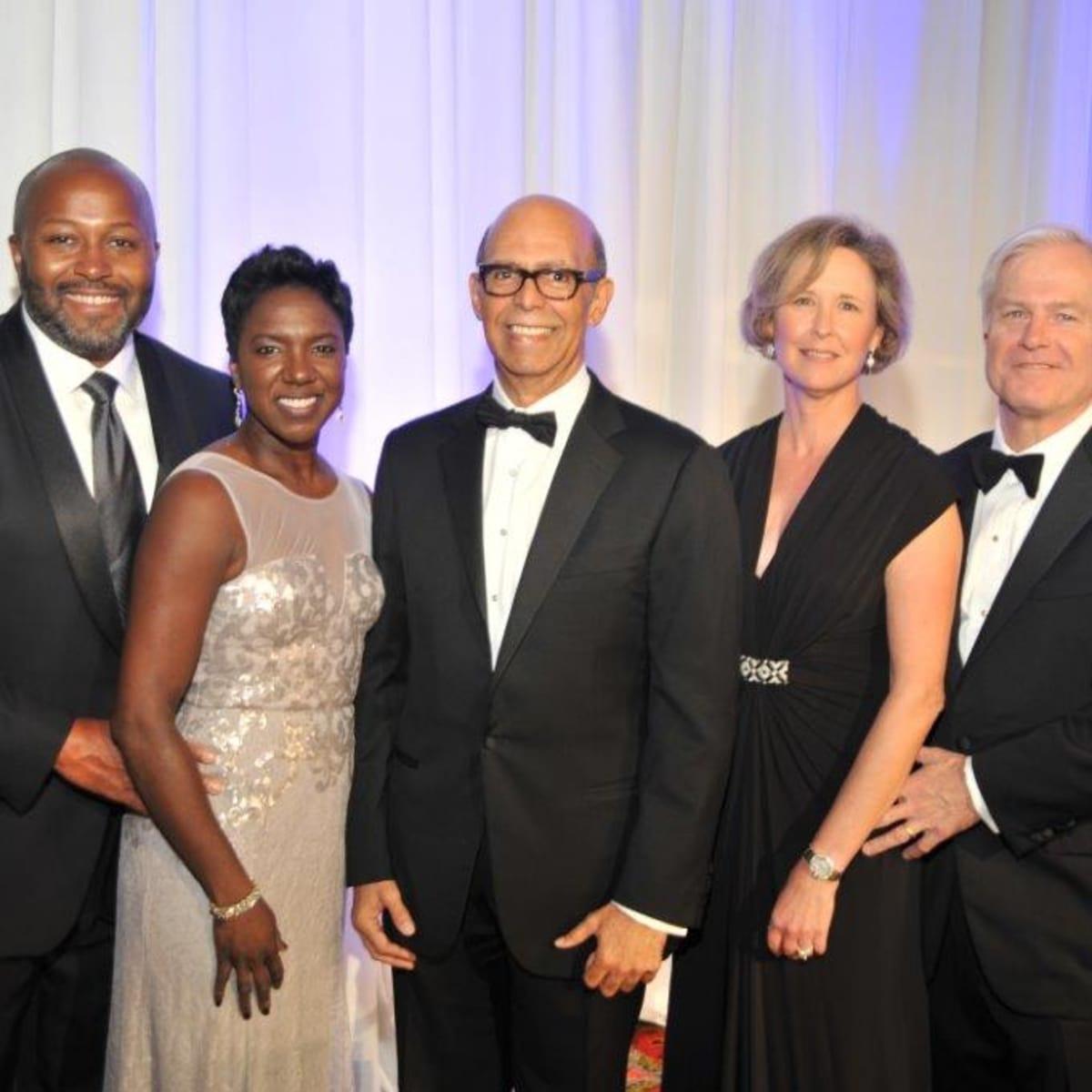 News, UNCF Gala, Nov. 2015, Jeffrey Webber, Kethia Webber, Michael Lomax, Sara Foshee, Doug Foshee