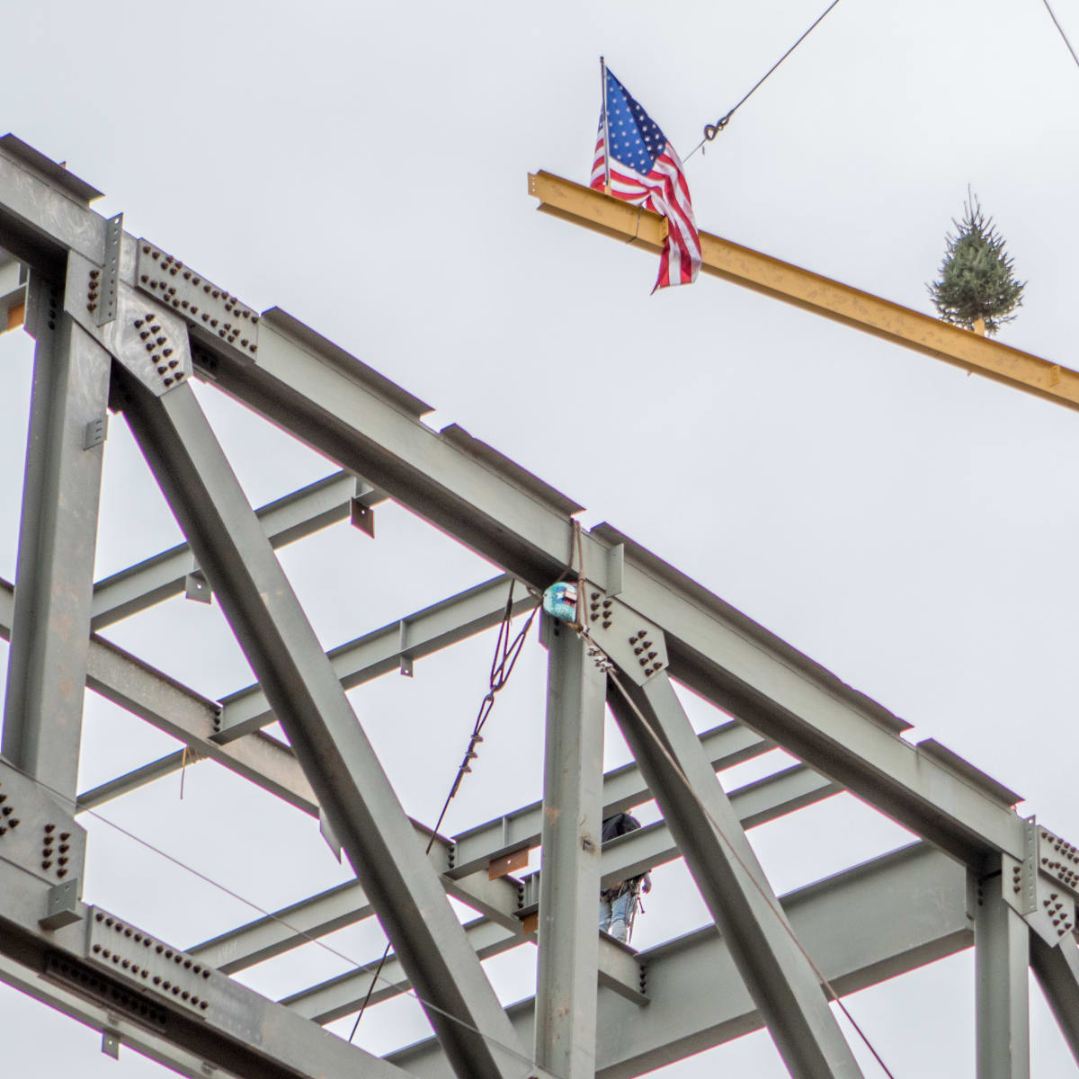 Smart Financial Centre in Sugar Land topping off