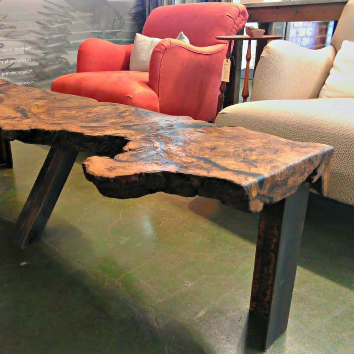 ReCoop Designs salvaged wood furniture