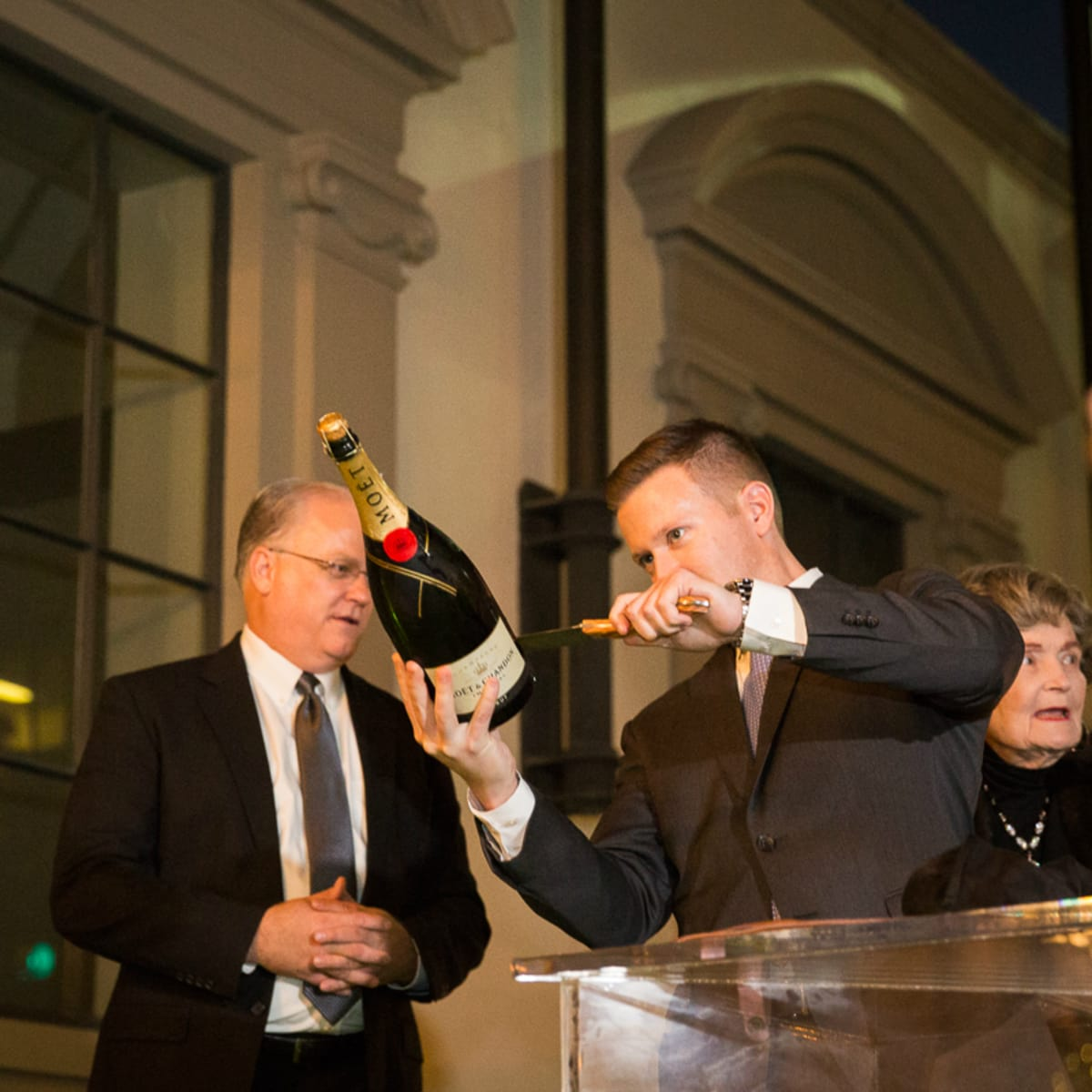 The Saint Anthony Hotel San Antonio Grand Reopening 2015 Chip Young Lila Cockrell