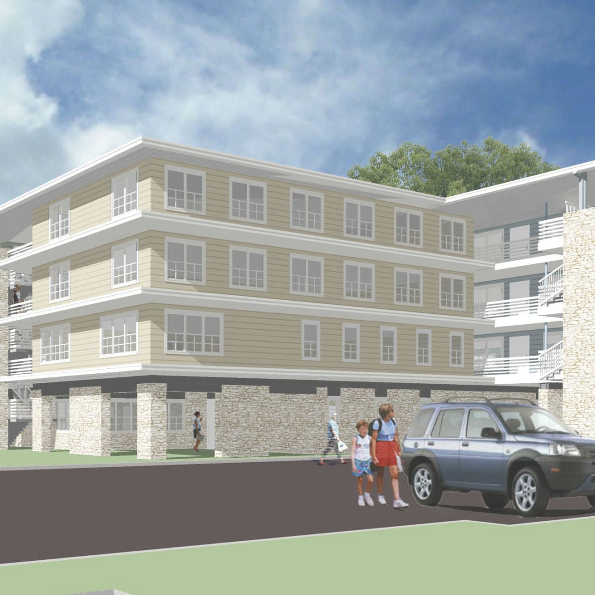 Jeremiah Project campus rendering