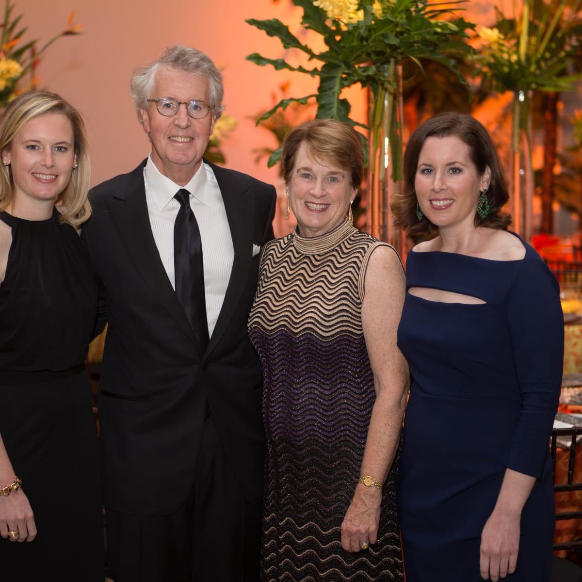 News, MFAH Latin Experience, Nov. 2015 Madeline Kelly; George and Linda Kelly; Sara Kelly