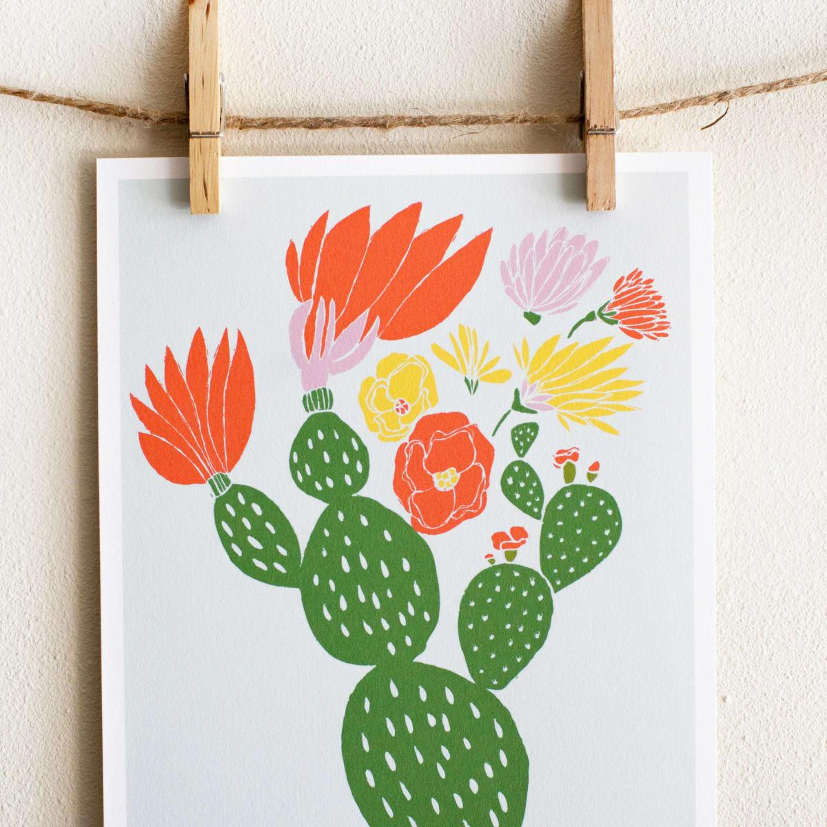 Leah Duncan prints at West Elm