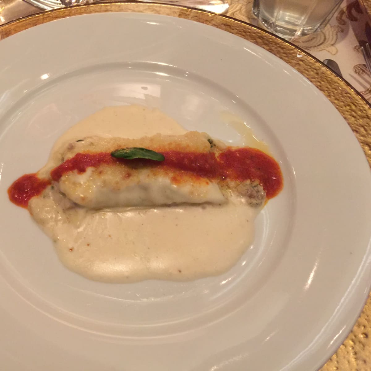News, Shelby, Tony's 50th, Nov. 2015 cannelloni