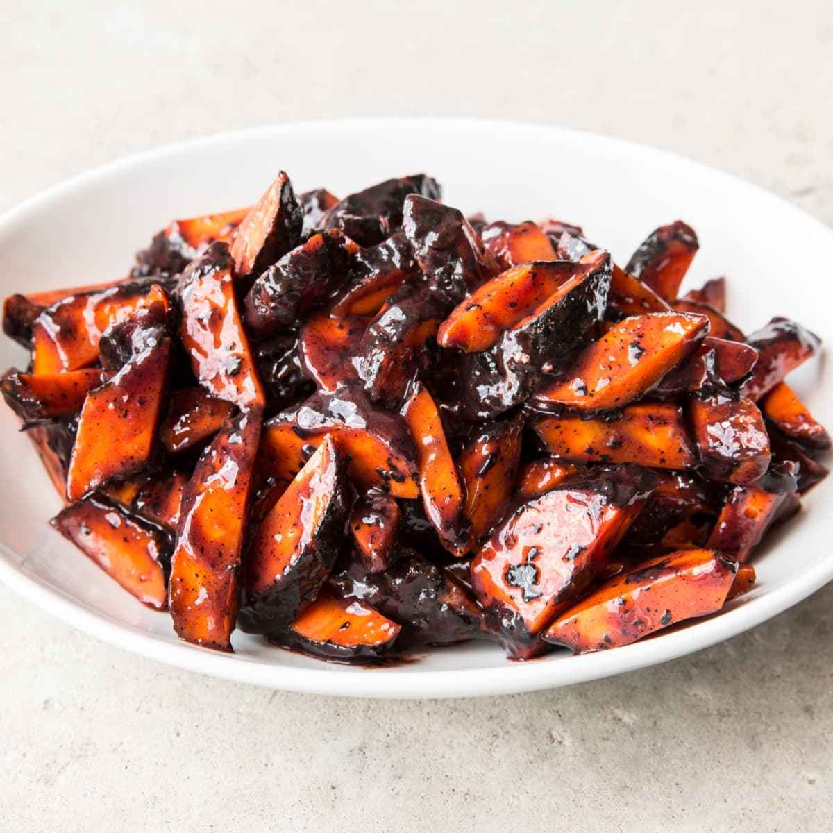 Underbelly Thanksgiving charred carrots