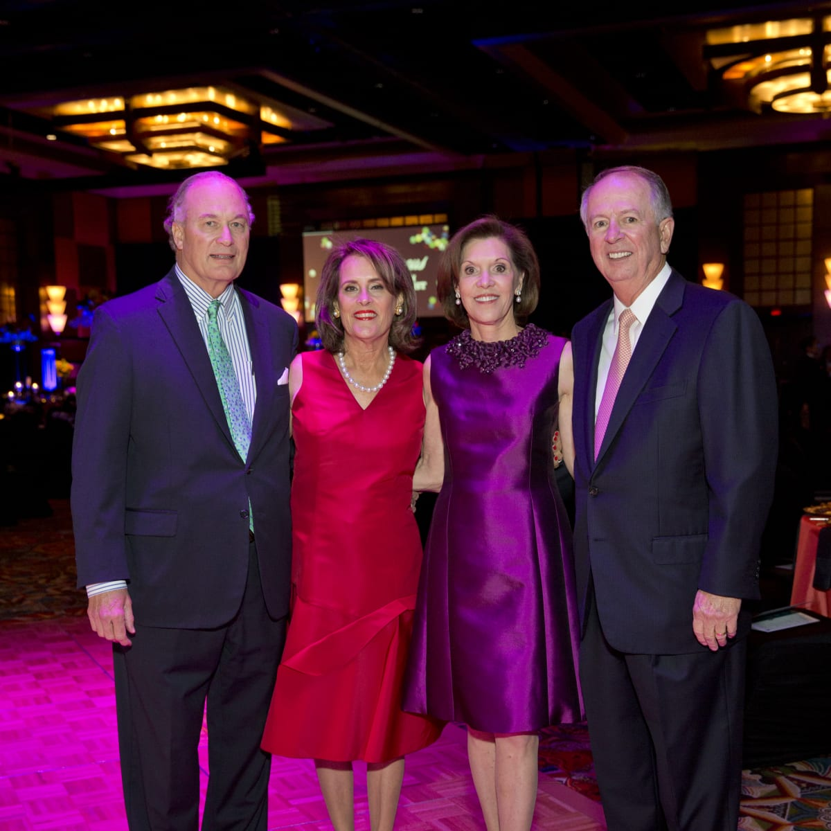 News, Shelby, Rendezvous with Houston Methodist, Nov. 2015, Peter Wareing, Elizabeth Wareing, Cam Canion, Rod Canion.
