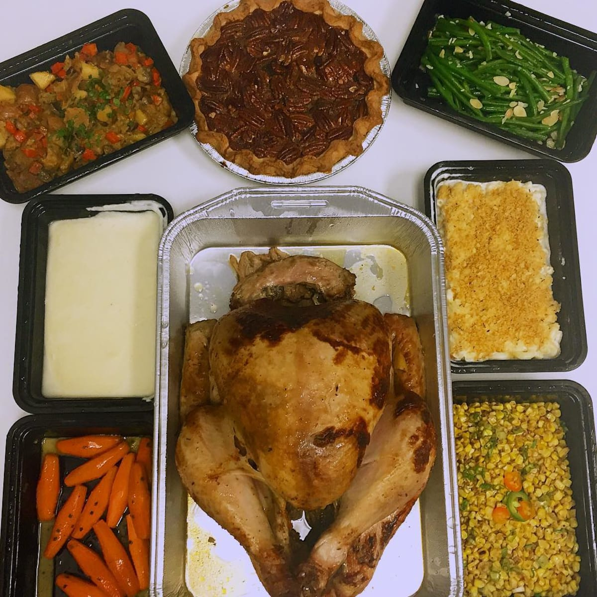 Thanksgiving feast Table