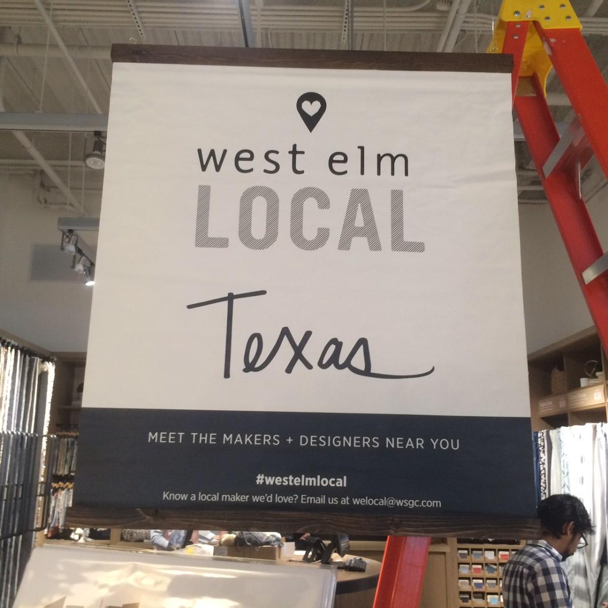 West Elm Local program