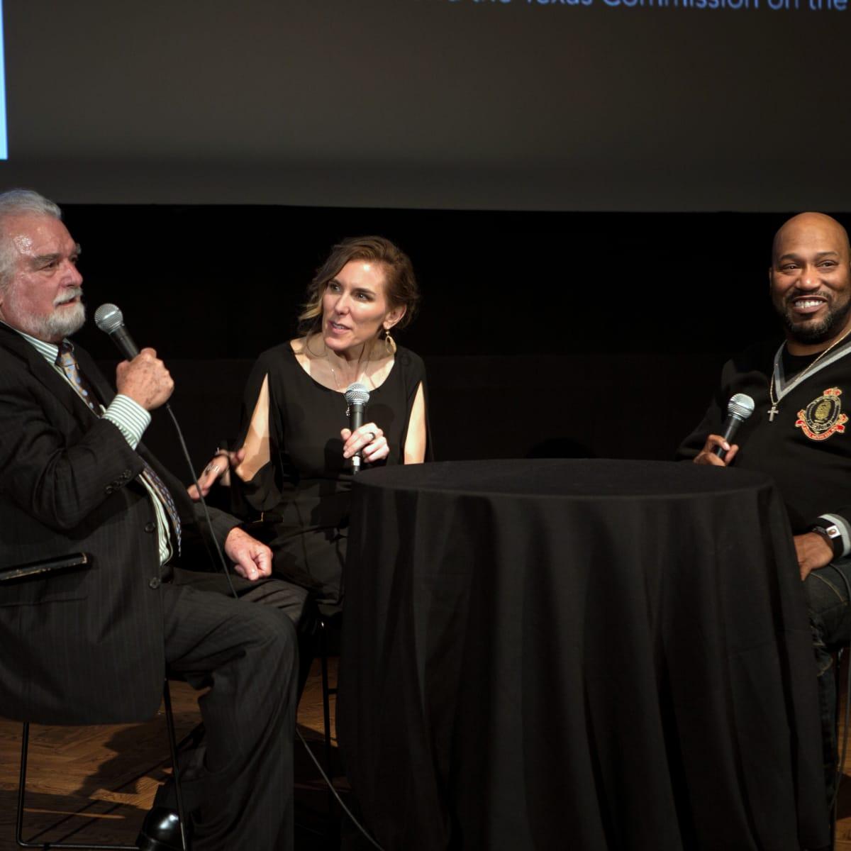 Houston, Cinema Arts Fest opening night, November 2015, Dave Moriarty, Amy Berg, Bun B