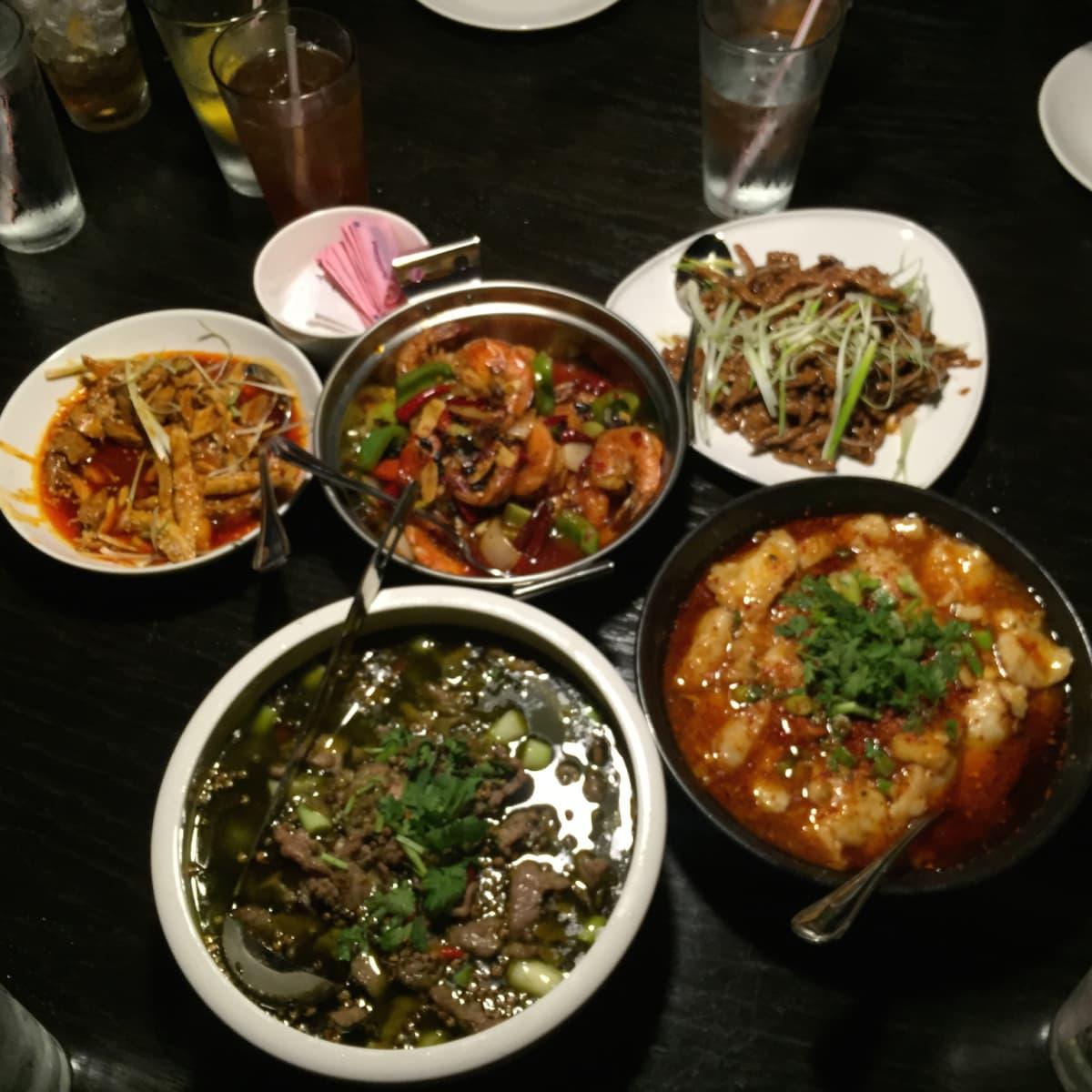Mala Sichuan dishes
