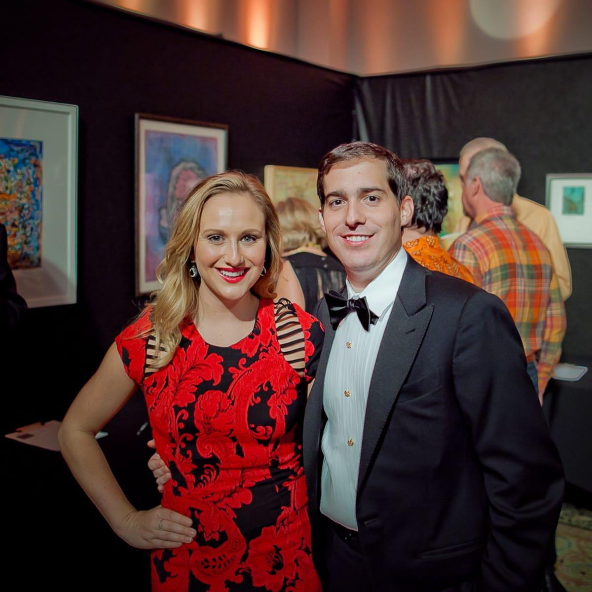 Orange Show Gala Sydney and Michael Vanderhider