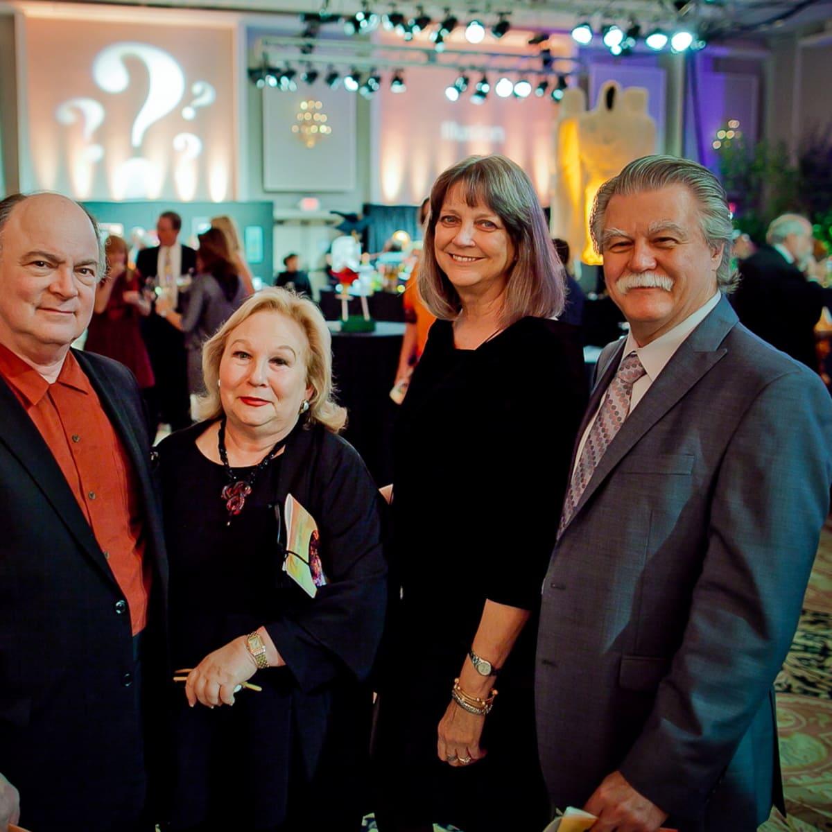Orange Show Gala John and Beverly Berry, Paul and Nancy Johnson