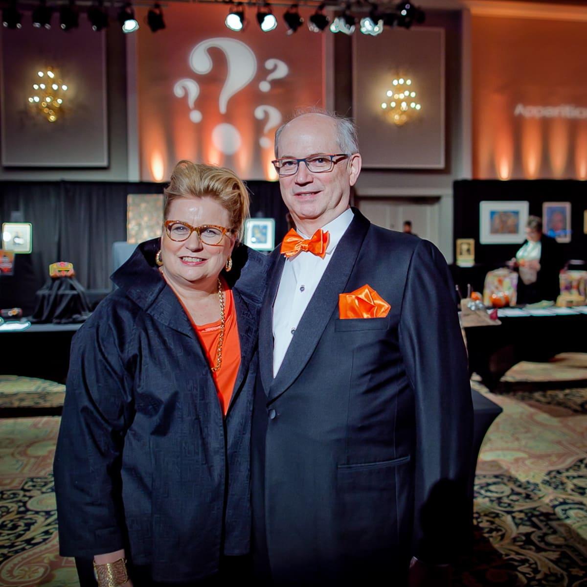 Orange Show Gala Gala Chairs Lynn Mathre and Stuart O'Dell
