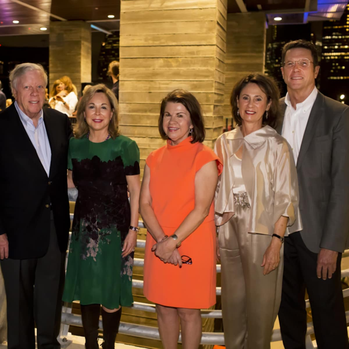 News, Shelby, Buffalo Bayou Partnership gala, Nov. 2015, Collin Cox, Rich Kinder, Nancy Kinder, Anne Olson, Sis Johnson, and Guy