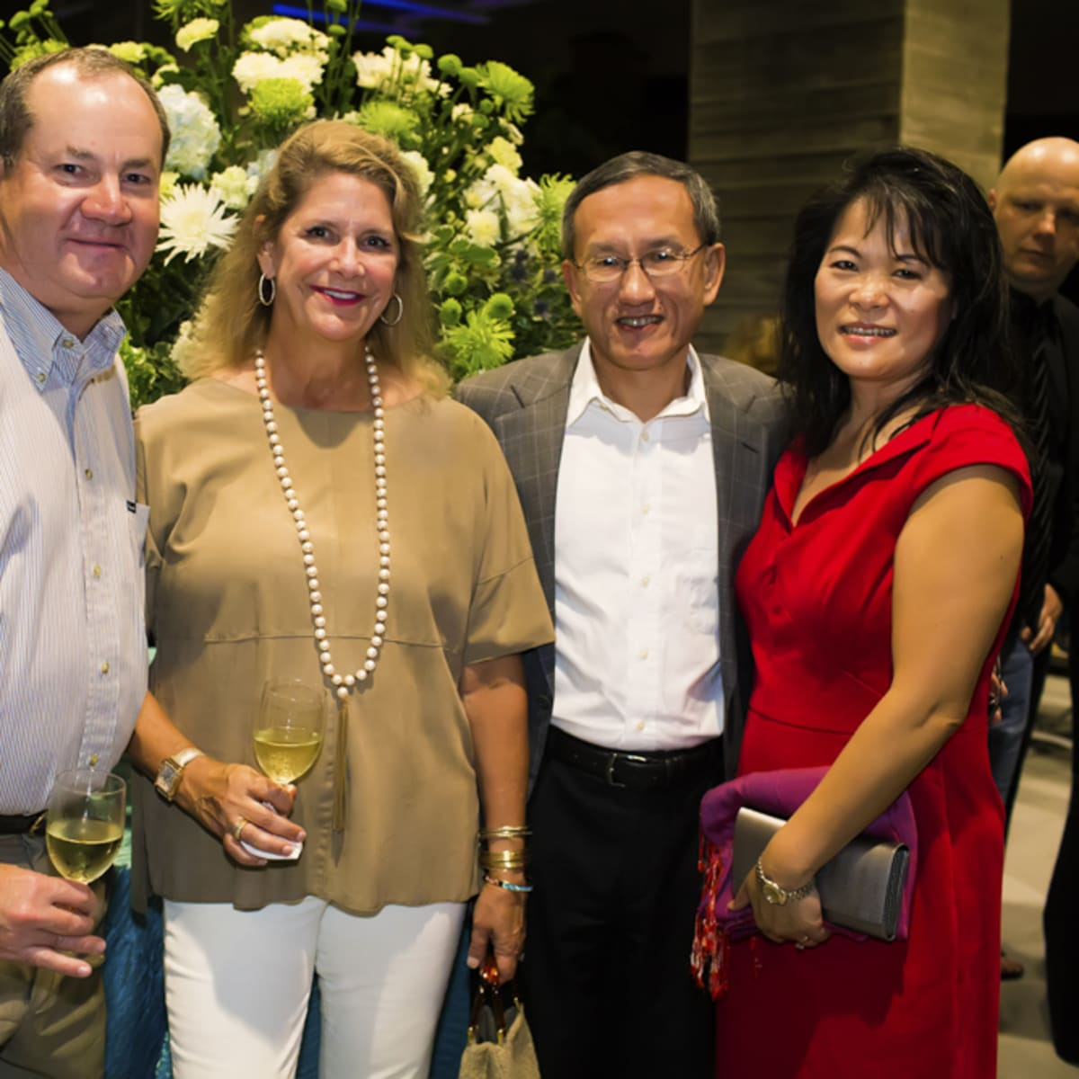 News, Shelby, Buffalo Bayou Partnership gala, Nov. 2015, Jeff Hines, Wendy Hines, Leo Chen, Jennifer Chen