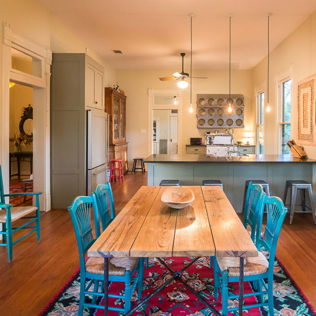 1011 E. Eighth St. dining room