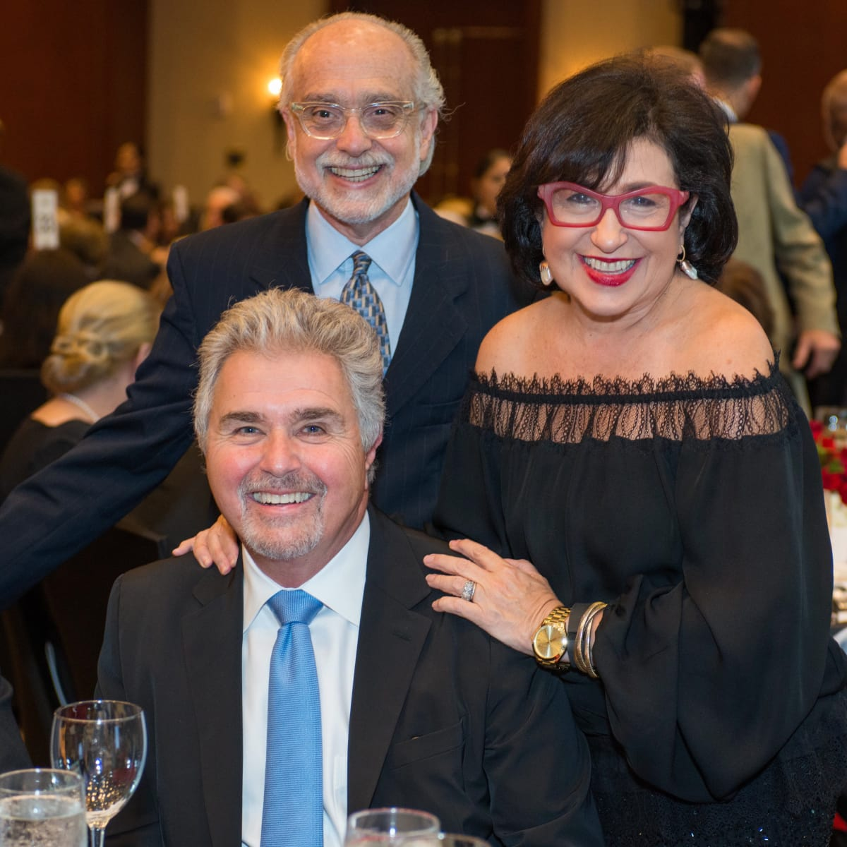 Crime Stoppers Gala Alan Pactor, Roz Pactor, Steve Tyrell