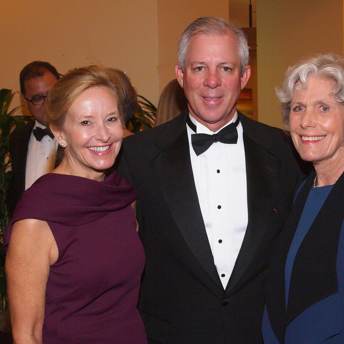 Welch Foundation banquet Debbie Robbins, Robert Robbins, Beth Robertson