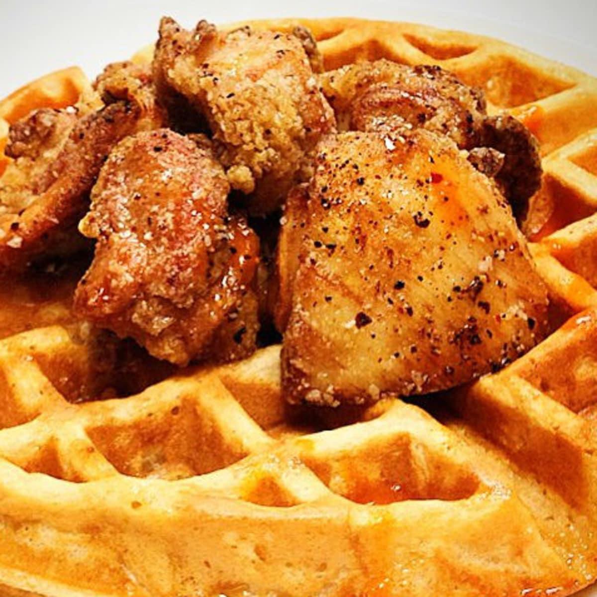 Hightower chicken and waffles