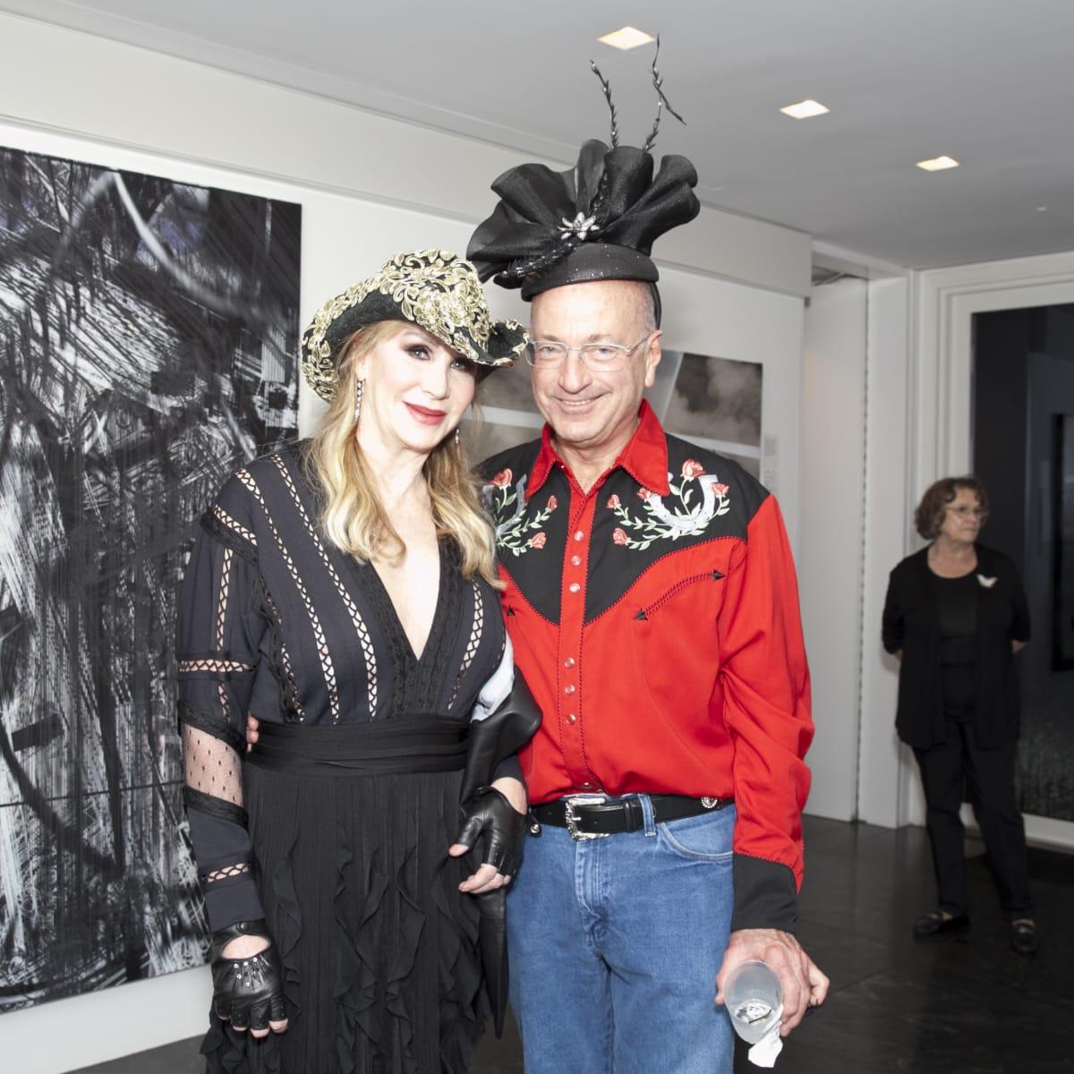 Angie Barrett and Joe Quinn