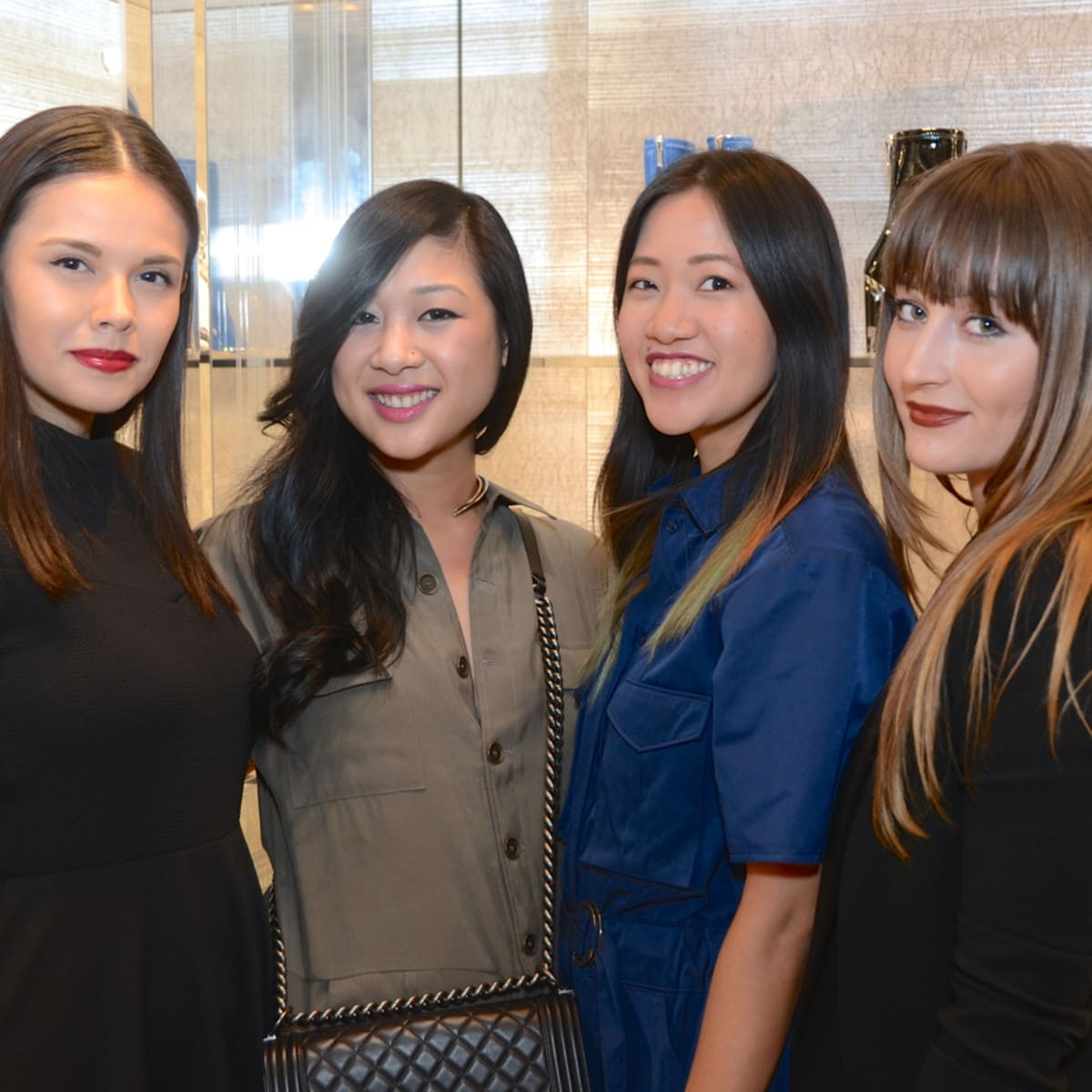 Dior grand opening Monica Abney, Fifi Phi, Issa Chou, Brittney Carroll