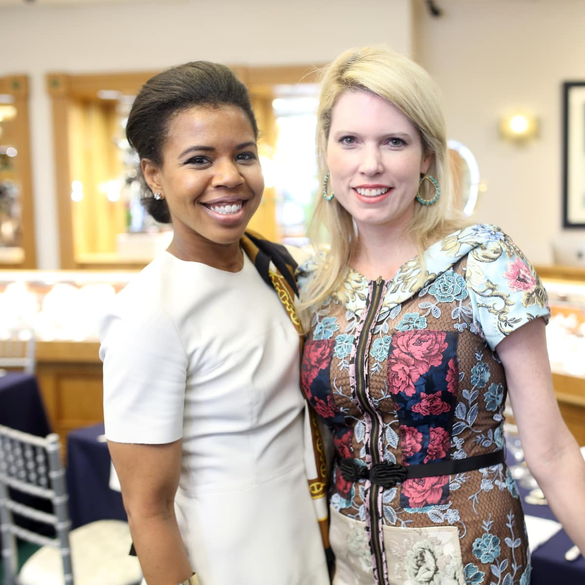 Houston, Una Notte kickoff party, October 2015, Claire Thielke, Courtney Toomey