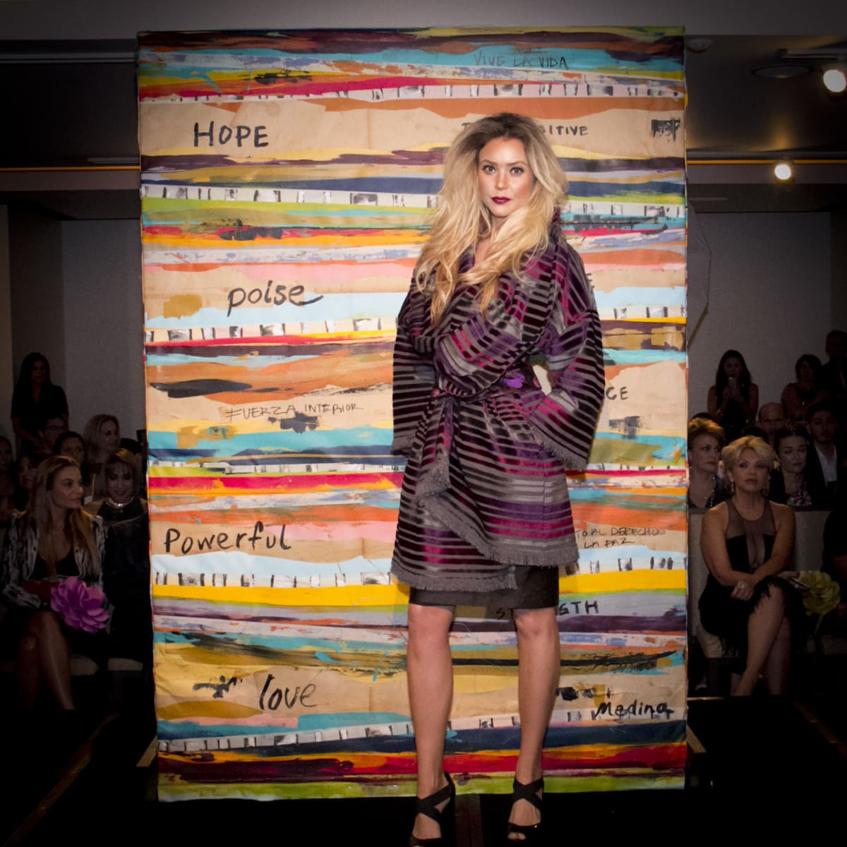 News, Shelby, Pedro Abasolo fashion show, Oct. 2015, Chloe Dao design