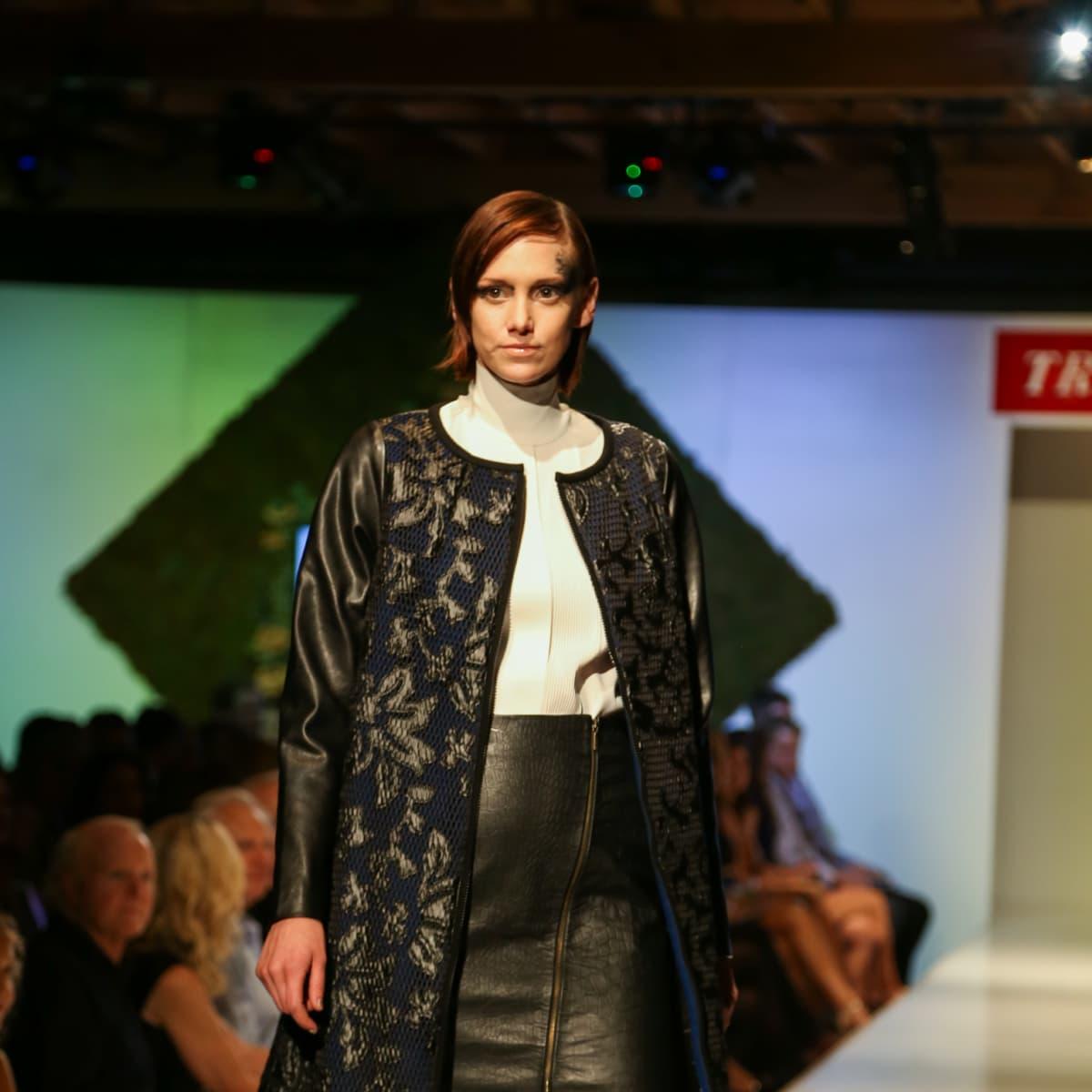 Tribeza Fashion Show 2015 at Brazos Hall Julian Gold