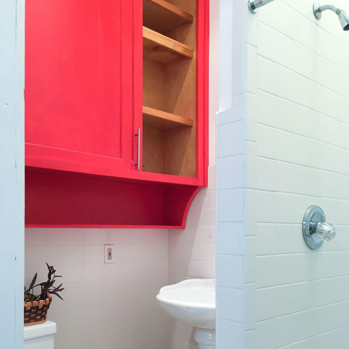 HK Austin hostel bathroom